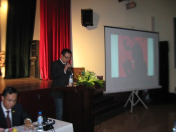 2010 Guest speaker at Architectural Conference for Hanoi Millennium