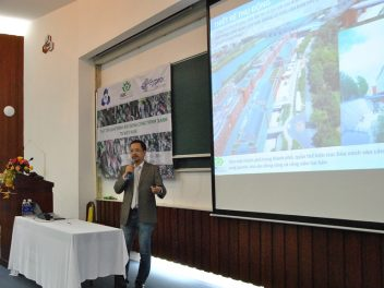 "2014 Guest Speaker of ""Green Building Practices in Vietnam"""
